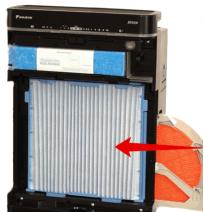 Комплект фильтров KAC998